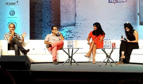 Manu Joseph, Akhil Sharma, Mira Jacob, Deepti Kapoor